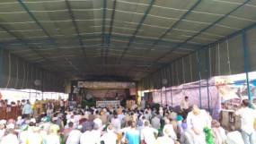 किसान आंदोलन: चुनौती का सामना करने को तैयार किसान, गर्मी की तपिश से बचने के लिए तैयार हुआ टेंट