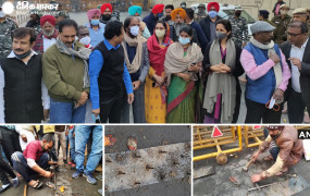 Farmers Protest Day 71: इंटरनेशनल मीडिया में छाया आंदोलन- किसानों की राहों से हटाई गईं कीलें, गाज़ीपुर बॉर्डर पर पहुंचे विपक्षी दल