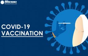 Coronavirus in India: देश में 1 करोड़ से ज्यादा को मिला वैक्सीन का पहला डोज, 24 घंटे में मिले 14 हजार मरीज