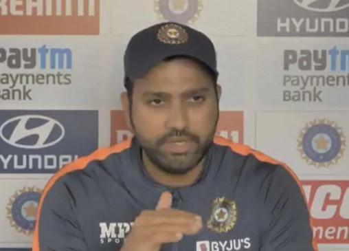 रोहित बोले- पिच दोनों टीमों के लिए समान, जब हम विदेश जाते हैं, तब कोई पेसर्स फ्रेंडली विकेट को लेकर कुछ नहीं बोलता