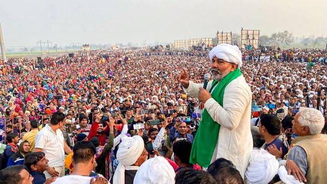 किसान आंदोलन का 79वां दिनः दो हिस्सों में बट रहा हैं किसान आंदोलन ! राकेश टिकैत के बयान पर किसान संयुक्त मोर्चा ने जताई नाराजगी