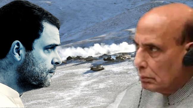 लद्दाख सीमा विवाद पर सियासत: राहुल गांधी को रक्षा मंत्रालय का जवाब, कहा- भारत ने चीन को कोई जमीन नहीं दी