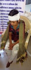 घर में सो रहे बच्चे पर तेंदुए का हमला, जिला अस्पताल में इलाज के बाद हालत खतरे से बाहर