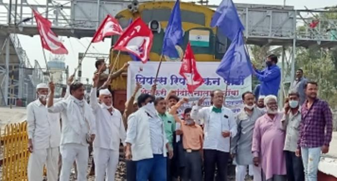 Farmer protest : महाराष्ट्र में आंदोलन, मुंबई की लाइफ लाइन प्रभावित नहीं