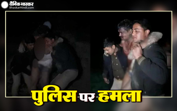 पुलिस पर हमला: UP के कासगंज में पुलिस टीम पर जानलेवा हमला, मुठभेड़ में एक आरोपी ढेर