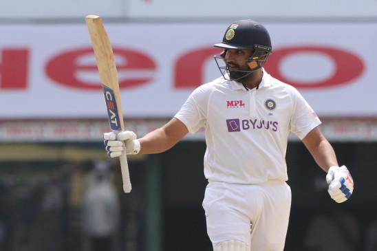 Chennai Test: Team India first day 6/300, Rohit century, Rahane half century