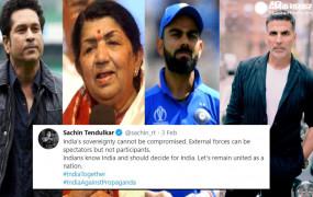 किसान आंदोलन: लता, सचिन और अक्षय सहित दिग्गज सितारों के ट्वीट की जांच करेगी उद्धव सरकार, रिहाना के ट्वीट का दिया था जवाब
