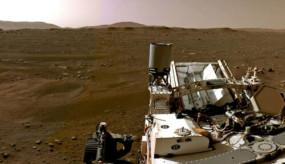 NASA के पर्सिवियरेंस रोवर ने मंगल ग्रह से भेजा ऑडियो, लैंडिंग का VIDEO भी जारी किया