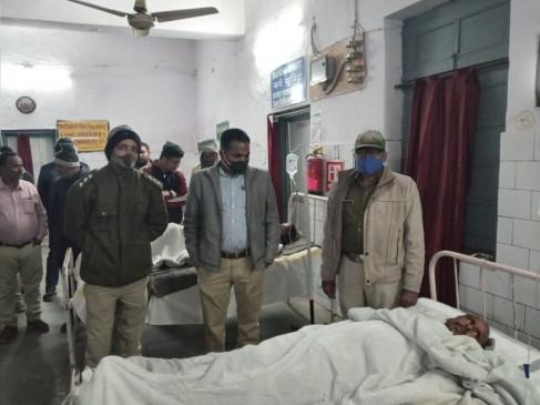 पन्ना - सागौन तस्करों के हमले से बीट गार्ड व दो सुरक्षाकर्मी घायल