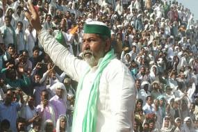 किसान आंदोलन: करौली महापंचायत में टिकैत ने हजारों किसानों के बीच कहा- अब गोदाम तोड़े जाएंगे