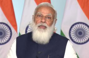 भारत के डिफेंस सेक्टर में पहली बार प्राइवेट सेक्टर की भागीदारी पर जोर दिया जा रहा है- पीएम मोदी