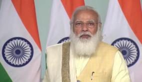UP: बहराइच में PM मोदी ने महाराजा सुहेलदेव स्मारक का शिलायंस, कृषि कानून को लेकर कही ये बात