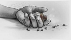 खुलासा: मुंह-नाक दबाकर पत्नी का दम घोटा, आत्महत्या बताने मुंह में डाला कीटनाशक