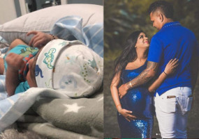 क्रिकेटर नरेन पिता बने, पत्नी एंजेलिया ने दिया बेटे को जन्म, शाहरुख की KKR से खेलते हैं IPL