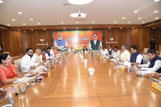 विधानसभा चुनाव: भाजपा ने उम्मीदवारों के नामों पर किया मंथन, आज जारी होगी उम्मीदवारों की सूची