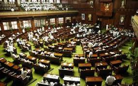 विधानसभा गैलरी से कूदने की कोशिश, अर्णी के भाजपा विधायक के खिलाफ कार्रवाई की मांग