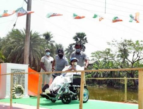 भाजपा समर्थकों ने ममता बनर्जी को देख लगाए जय श्रीराम के नारे