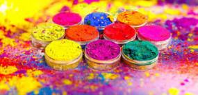 कोरोना के साए में होगी, रंग का कारोबार हुआ बेरंग