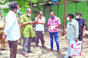 खुलेआम घूम रहे कोरोना मरीज, गांव भी जा रहे, महापौर ने किया निरीक्षण