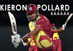पोलार्ड से पहले ये 8 क्रिकेटर जड़ चुके हैं 6 गेंदों पर 6 छक्के, इंटरनेशनल लेवल पर तीसरी बार हुआ ये कारनामा
