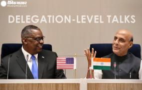 वैश्विक रणनीतिक साझेदारी के लिए भारत-अमेरिका प्रतिबद्ध: राजनाथ सिंह