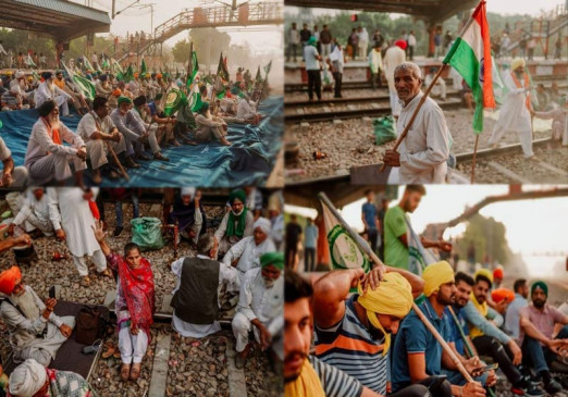 किसान आंदोलन के 4 महीनेः भारत बंद के आह्वान पर पंजाब, हरियाणा में 32 जगहों पर ट्रेन की आवाजाही बंद
