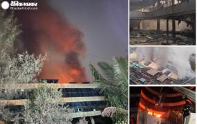 मुंबई : सनराइज हॉस्पिटल में आग, 10 लोगों की मौत पर सीएम ने मांगी माफी - 5-5 लाख रुपए मुआवजे का ऐलान