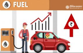 Fuel Price: पेट्रोल- डीजल की बढ़ती कीमतों पर लगा ब्रेक, जानें आज क्या है दाम