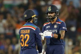Ind vs Eng, 2nd T20I: भारत ने इंग्लैंड को 7 विकेट से हराया, कोहली और किशन ने जड़े अर्धशतक