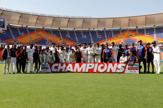 IND vs ENG: भारत ने घर में लगातार 13वीं टेस्ट सीरीज जीती, छठवीं बार पहला टेस्ट गंवाने के बाद की वापसी