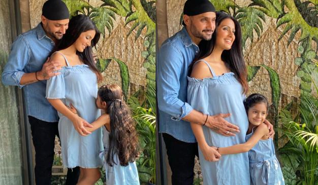 दूसरी बार पिता बनने जा रहे हरभजन सिंह, पत्नी गीता बसरा ने बेबी बंप के साथ की फोटो शेयर