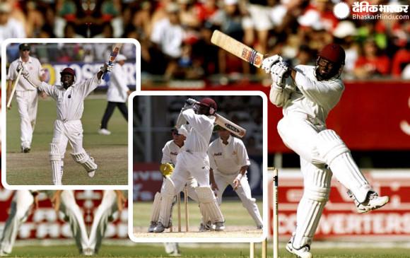 ब्रायन लारा की इस ऐतिहासिक पारी की बदौलत हारते हुए मैच को 1 विकेट से जीता था वेस्टइंडीज