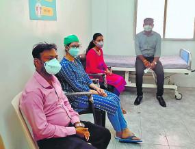 नागपुर में दूसरे दिन लक्ष्य से अधिक टीका , 1410 बुजुर्गों को वैक्सीनेशन