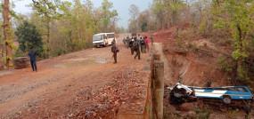 छत्तीसगढ़: नक्सलियों ने नारायणपुर जिले में बारूदी सुरंग में IED ब्लास्ट कर उड़ाई बस, 5 जवान शहीद और 14 जख्मी
