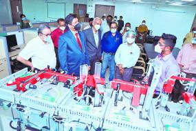 वीएनआईटी में स्पेस रिसर्च टेक्नोलॉजी इंक्यूबेशन सेंटर , नागपुर की भागीदारी