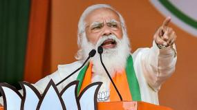 विधानसभा चुनाव 2021: करीमगंज में गरजे पीएम मोदी, बोले- कांग्रेस की नीति ने असम को बर्बाद किया, BJP ने किया कनेक्ट