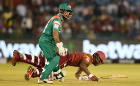 Road Safety World Series: वेस्टइंडीज ने दर्ज की पहली जीत, बांग्लादेश को 5 विकेट से हराया