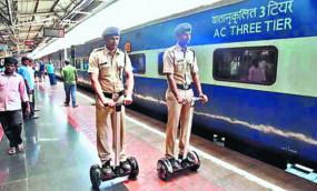"""नागपुर स्टेशन पर आरपीएफ नए अंदाज में """"सेगवे' से करेगी पेट्रोलिंग"""