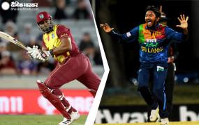 एक मैच में दो कमाल: श्रीलंका के जिस गेंदबाज ने ली विकेटों की हैट्रिक, उसी के 1 ओवर में पोलार्ड ने जड़े 6 छक्के, देखें वीडियो