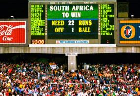 जब 1 बॉल में बनाने थे 22 रन, ऐसे किस्मत ने दक्षिण अफ्रीका को कर दिया था वर्ल्ड कप से बाहर