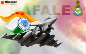 राफेल का चौथा बैच भारत पहुंचा: गुजरात के जामनगर एयर बेस पर रात 11 बजे उतरे 3 और राफेल, इंडियन एयरफोर्स के पास अब 14 फाइटर जेट