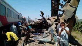 मिस्र में बड़ा हादसा: दक्षिणी प्रांत सोहाग में दो ट्रेनों की आमने-सामने से टक्कर, 32 की मौत, 66 घायल