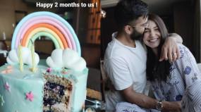 दो महीने की हुई वामिका कोहली, पापा विराट ने किया सेलिब्रेट , मम्मी अनुष्का ने शेयर की केक कटिंग की तस्वीर