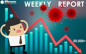 Weekly Report: शेयर बाजार पर रहा कोरोना का साया, 50,000 के नीचे फिसला सेंसेक्स