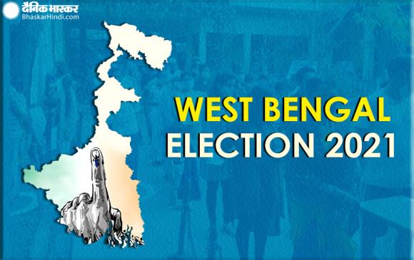 West bengal election Voting: पश्चिम बंगाल में पहले चरण के लिए मतदान जारी, सुबह 11 बजे तक हुई 24 फीसदी वोटिंग