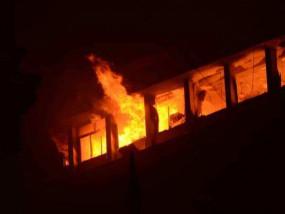 पश्चिम बंगाल: कोलकाता के बड़े बाजार बिल्डिंग में लगी आग, इमारत में आग से दमकलकर्मियों समेत 9 की मौत