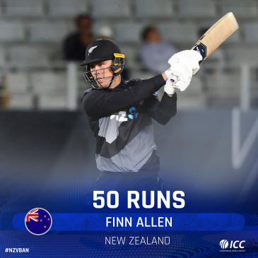 ऑकलैंड टी-20: कोहली के इस बल्लेबाज ने IPL से पहले जड़ा तूफानी अर्धशतक, न्यूजीलैंड ने बांग्लादेश के खिलाफ किया क्लीन स्वीप