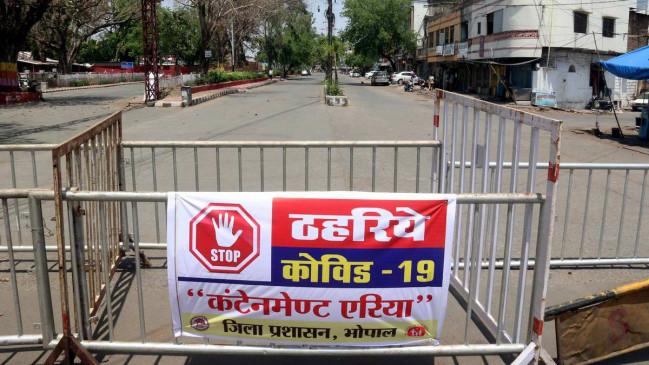 भोपाल: कोलार-शाहपुरा में 9 अप्रैल शाम 6 से 19 अप्रैल सुबह बजे 6 तक टोटल लॉकडाउन, शहर के 40% कोरोना केस यहीं से आ रहे