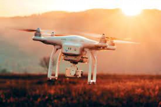 ड्रोन कैमरे में कैद हुई 867 गांवों की सीमा
