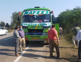 नागपुर-छिंदवाड़ा के बाद अब रायपुर, दुर्ग की बसें बंद - छत्तीसगढ़ की सीमा तक ही जा पाएँगी बसें